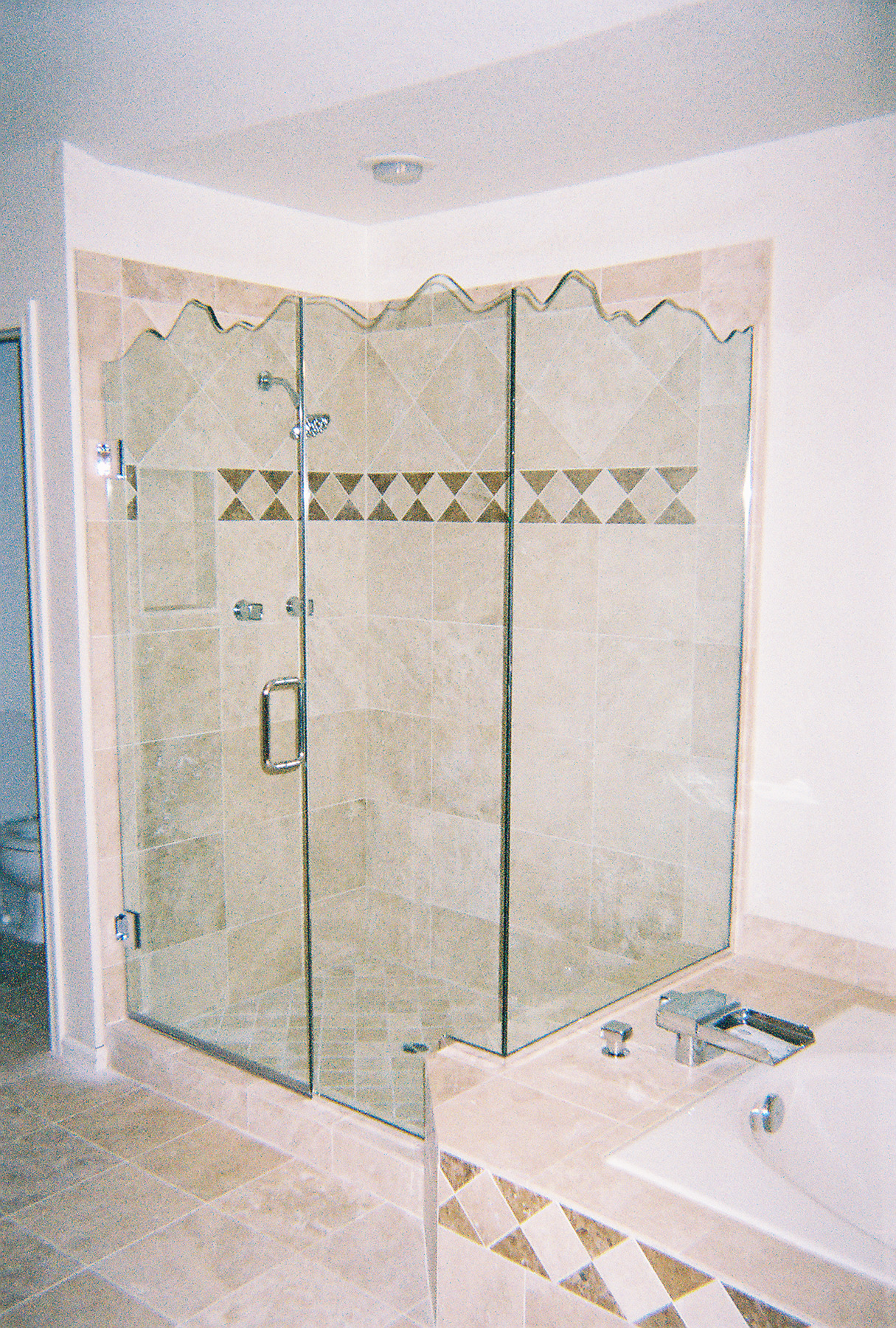 ... Frameless Series Shower Enclosure