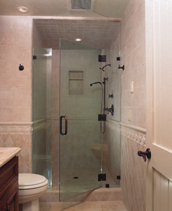 Frameless Glass Shower Doors Tub Enclosures Phoenix AZ - Seamless bathroom shower doors